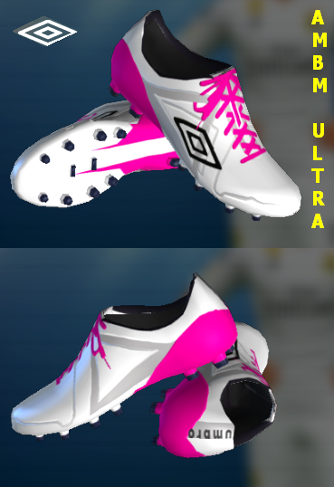 PES 2013 Umbro Velocita Pro Nimbus Cloud / Dark Shadow / Pink Glow by AmBm ultra