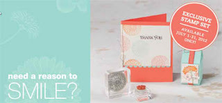 Stampin'UP!'s Reason to Smile Promotion