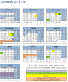 Calendari 2018/19