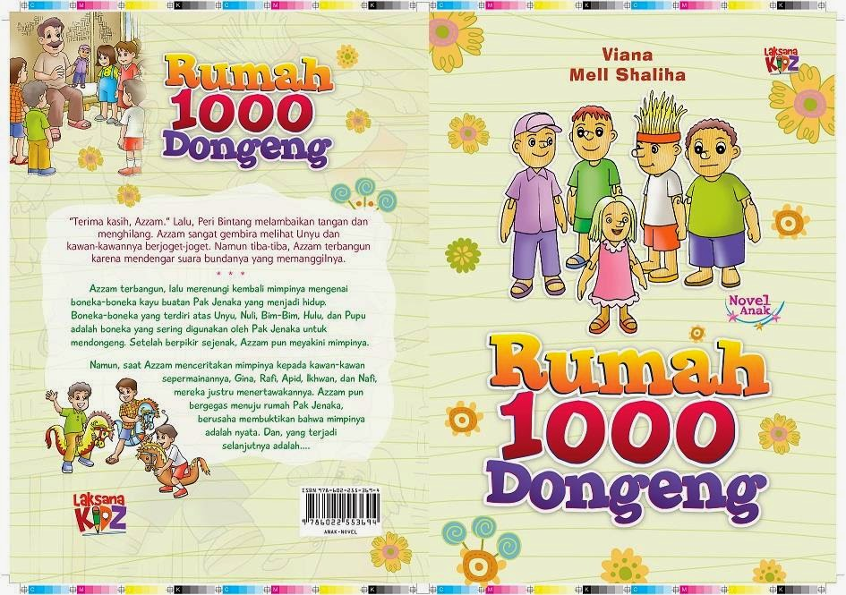 Novel Anak Rumah 1000 Dongeng