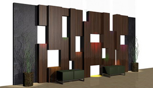 Justin Furniture Wall Panel
