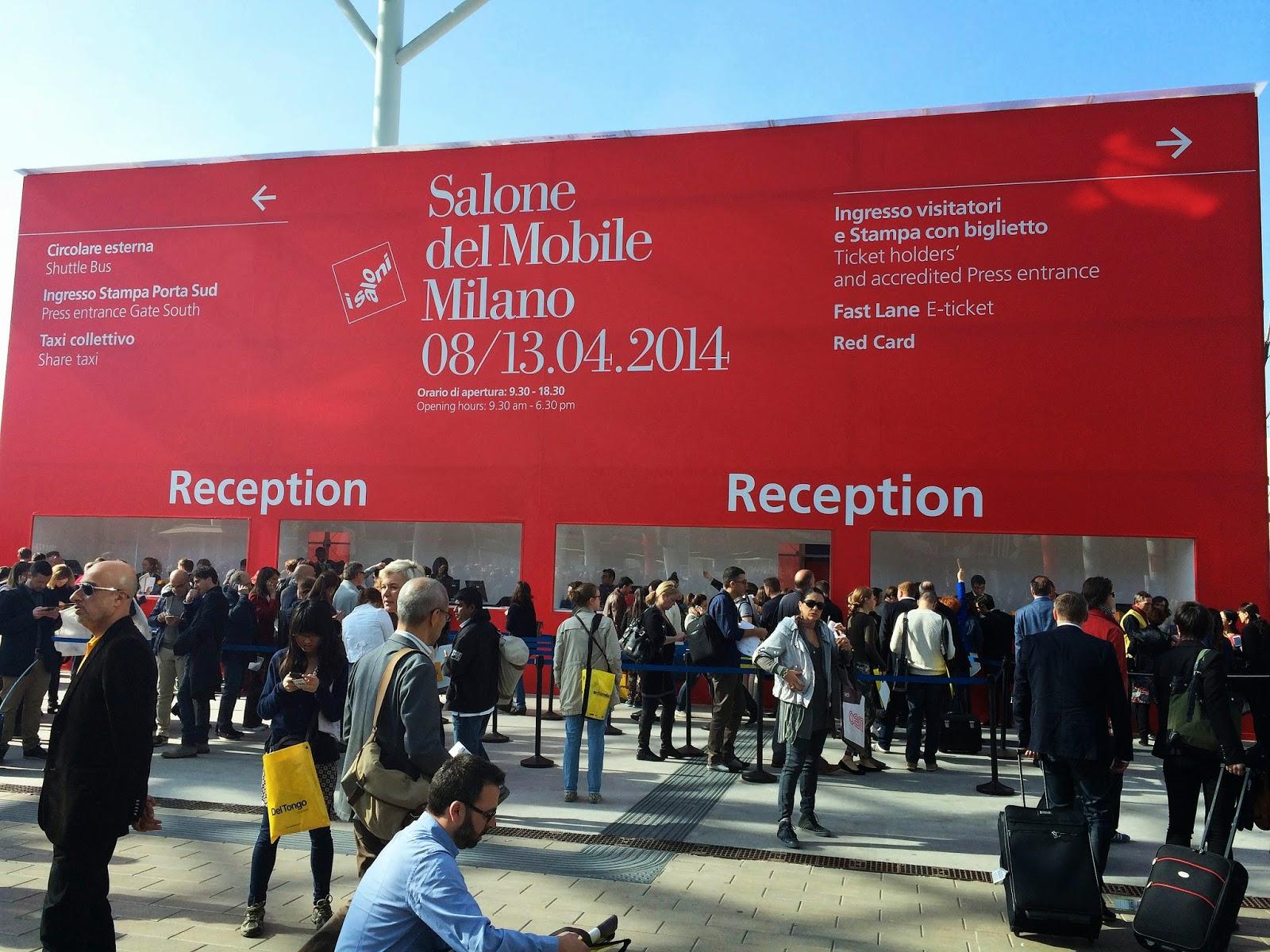 Salone del Mobile 2014 Milán