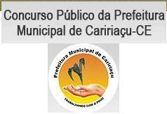 concurso da Prefeitura de Caririaçu (CE) 2012