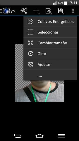 Cómo cambiar el tamano de una imagen en Android.