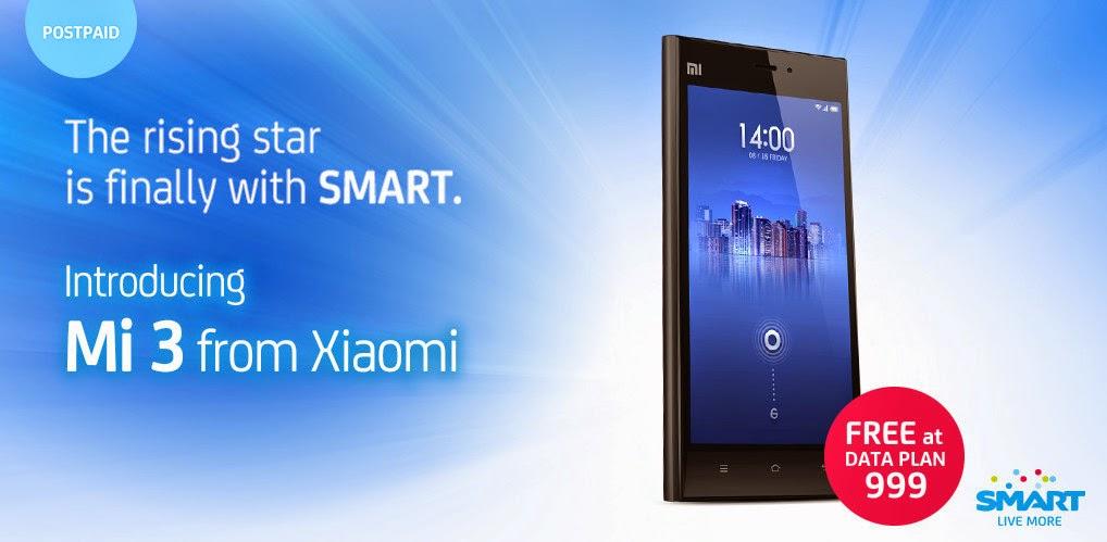 Smart Postpaid Xiaomi Mi3