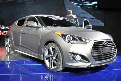 Hyundai Veloster 2013 Turbo,Destaques do Salão do Automóvel de Detroit 2012