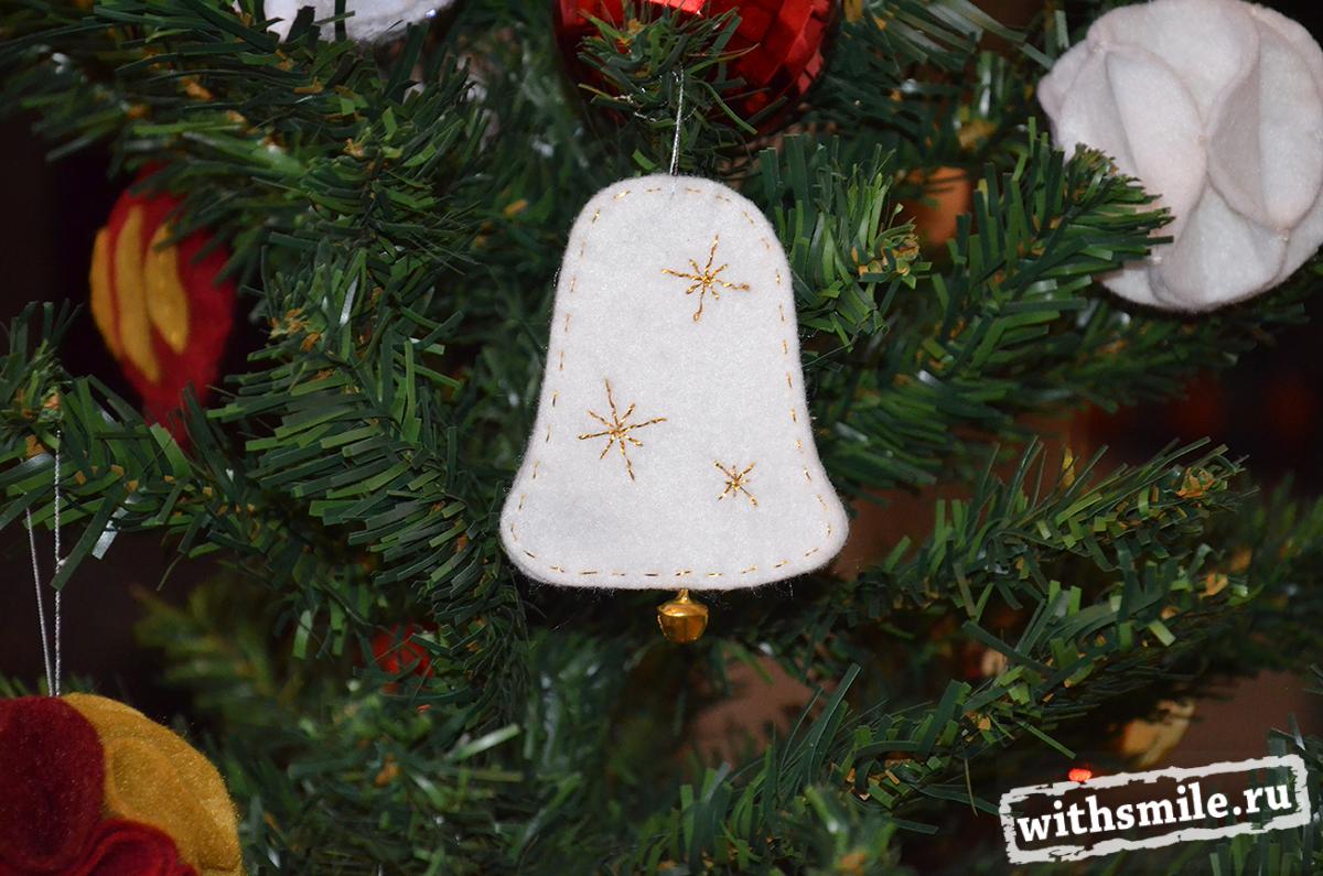 Christmas tree felt toys