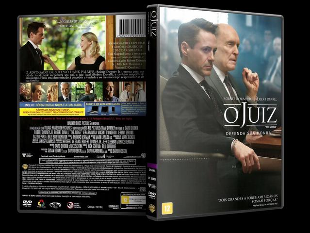 Capa DVD O Juiz