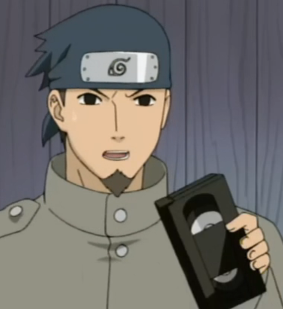 Video Tape dan Video Casette Recorder di dunia naruto