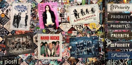 Rock και metal Φινλανδικά συγκροτήματα σε γραμματόσημο