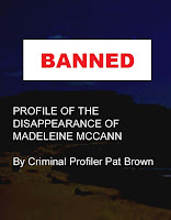 Why was my Madeleine McCann Book Banned?  BANNED