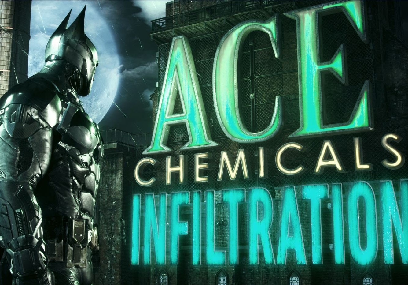 Batman: Arkham Knight - Ace Chemicals Infiltration Trailer: Part 2