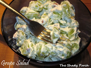 Green Grape Salad by The Shady Porch