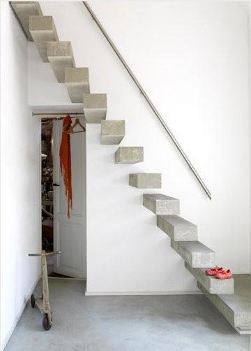 Escaleras que son la protagonistas de nuestras casas for Escaleras decorativas de interior