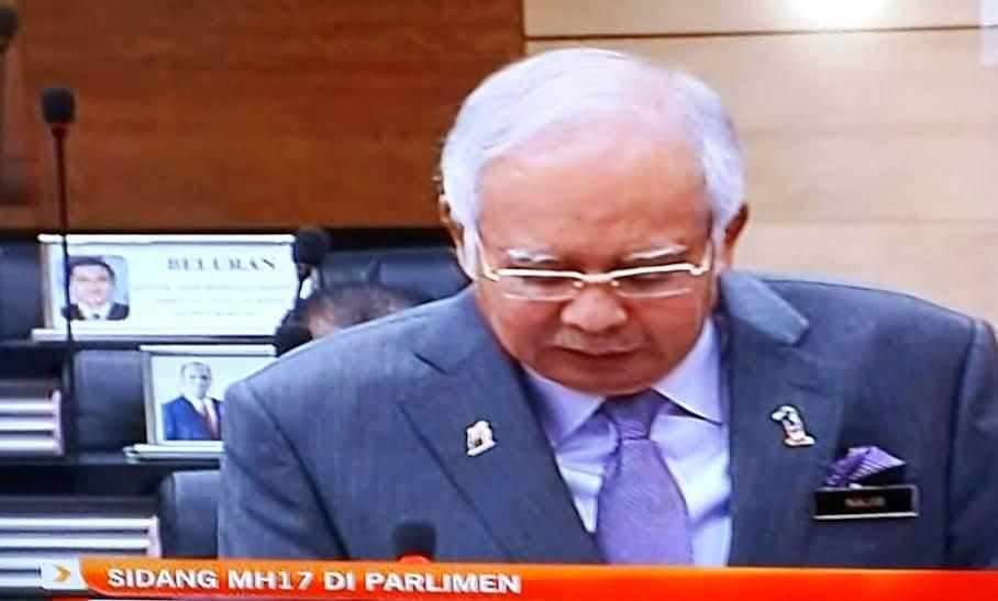 Kenyataan Penuh DS NajibRazak Pembentangan Usul MH17 di Parlimen Justice4MH17