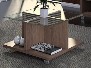Dicas de mesas de centro para salas pequenas