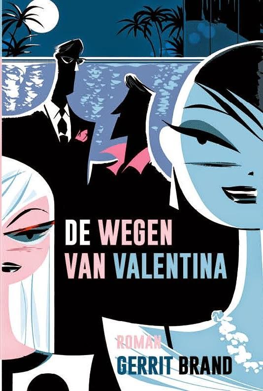 """Cover """"De Wegen Van Valentina"""""""