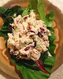 Cranberry Walnut Chicken Salad Recipe