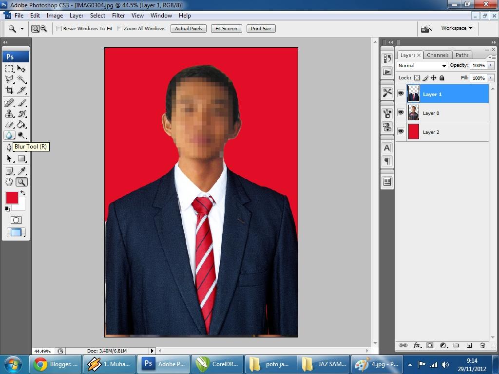 ... background foto cara mengganti background foto dengan photoshop