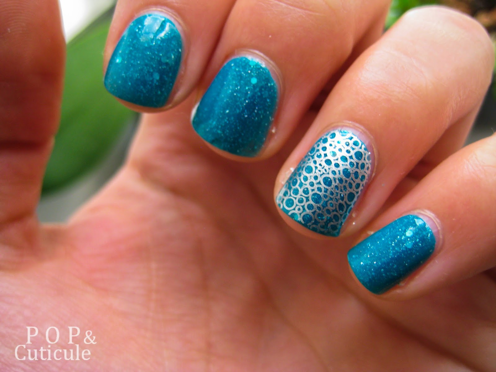 Pop & Cuticule Lagoon Picture Polish