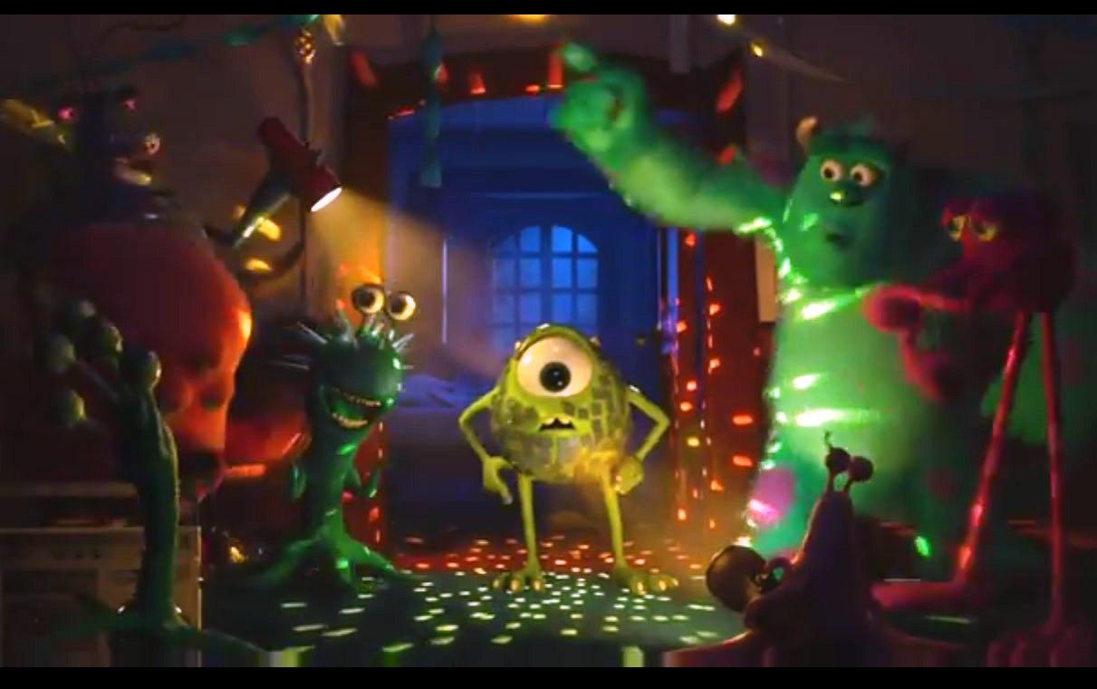 Monsters University 2013 animatedfilmreviews.blogspot.com disco party