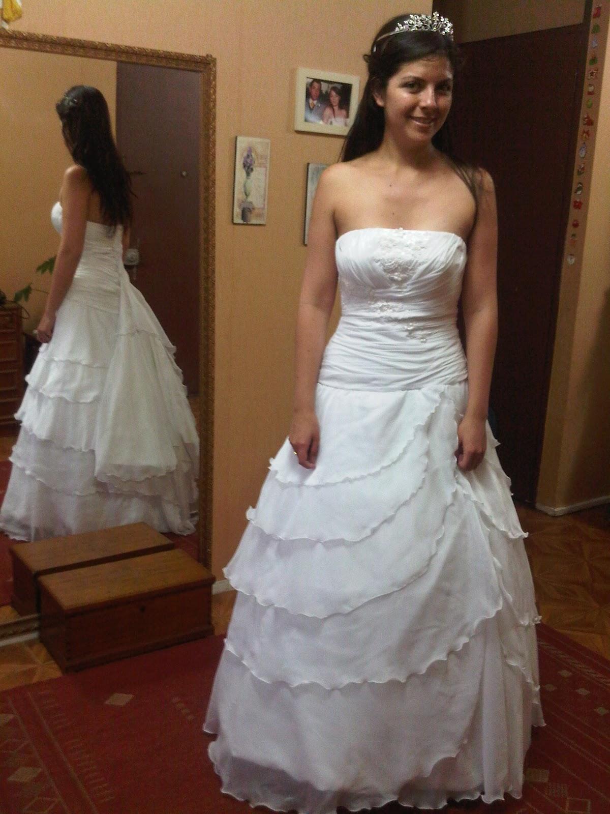 Vestidos de novia con cola de 2 metros