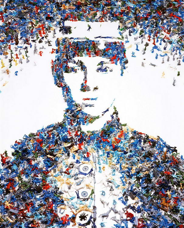 Creative Artworks Made From Unexpected Materials By Vik Muniz