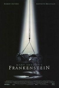 Poster original de Frankenstein de Mary Shelley