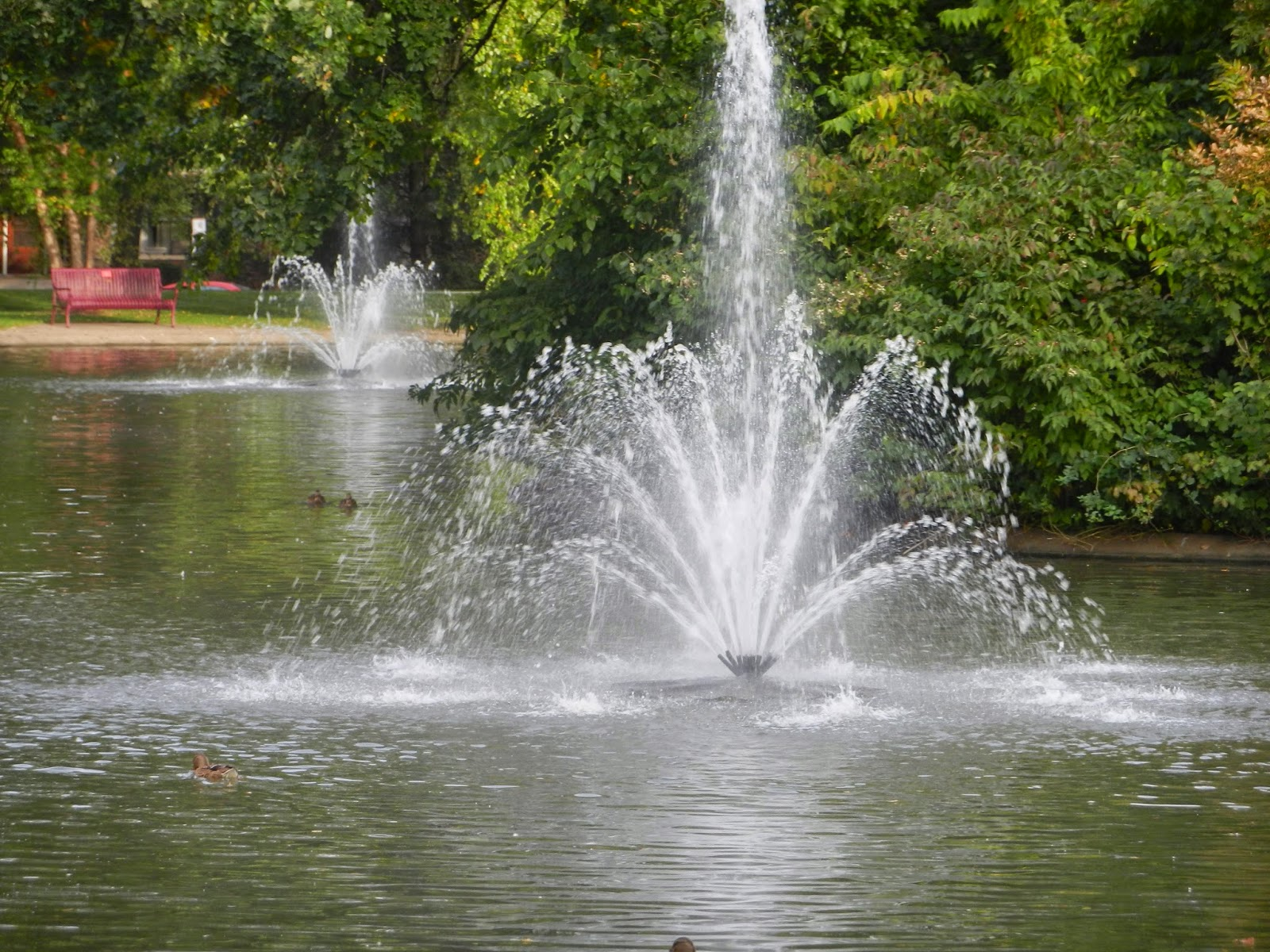 park fountains in leclaire illinois