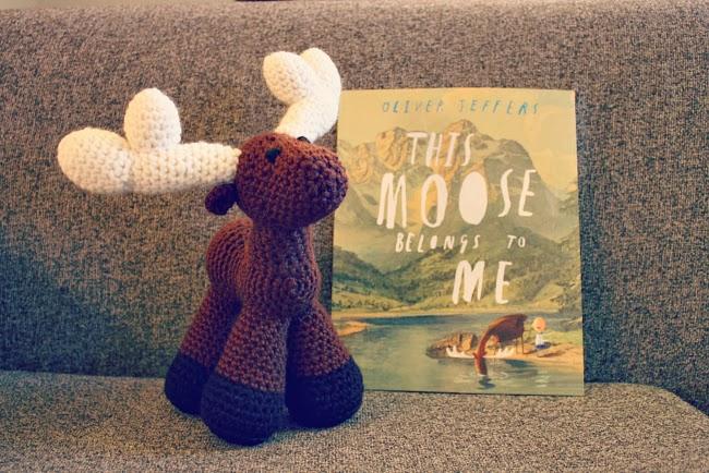 crochet moose amigurumi