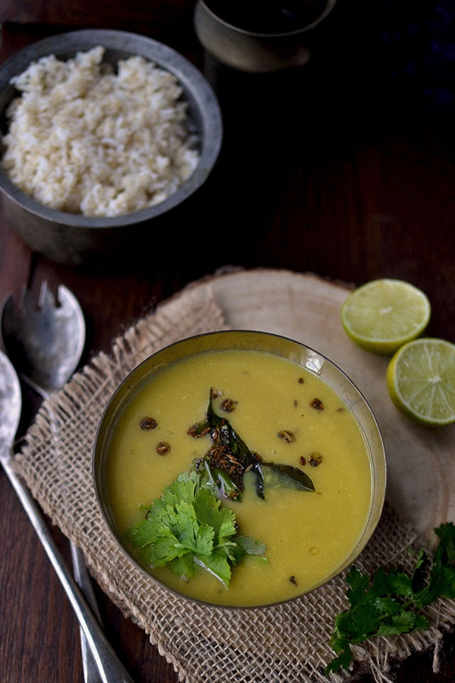 Simple Toor dal Saaru