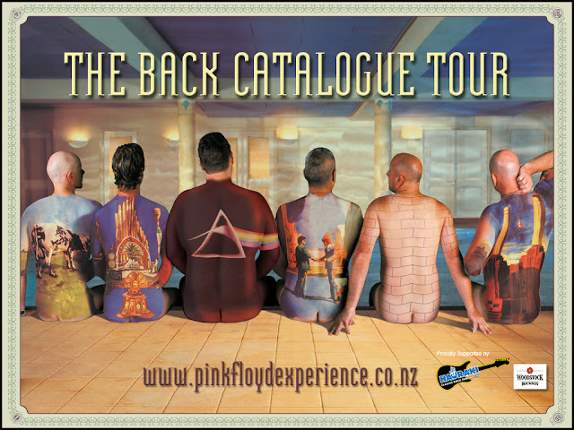 Poster del Back Catalogue Tour del grupo Pink Floyd Experience