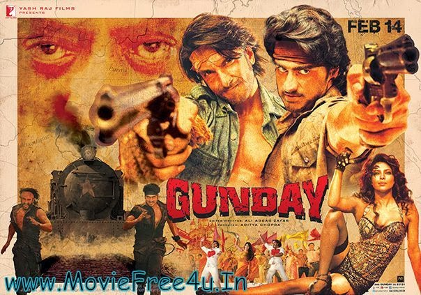 Gunday (2014) HDRip Full Video Songs 720P HD