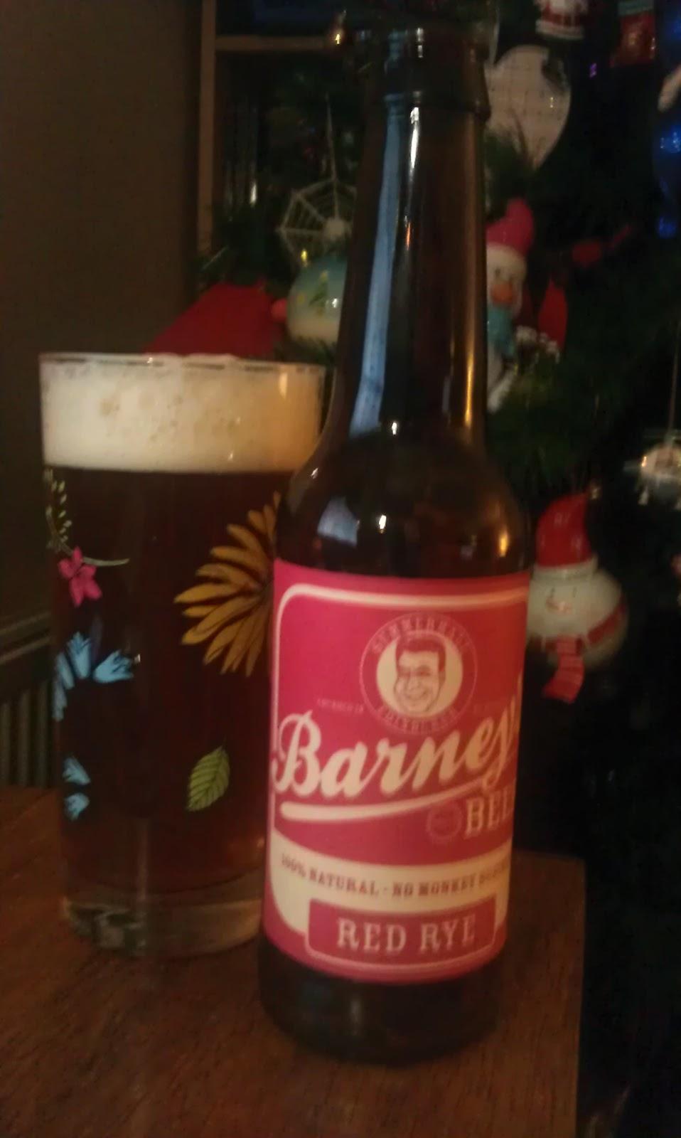 Barney Beer Red Rye