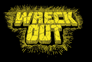 wreck out tshirt design