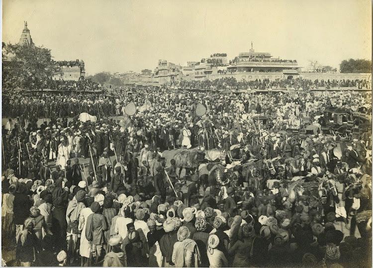 Procession In Jaipur