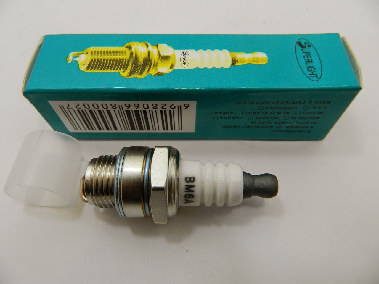 http://www.chainsawpartsonline.co.uk/superlight-spark-plug-replaces-ngk-bpmr7a-fits-most-chainsaw-models/