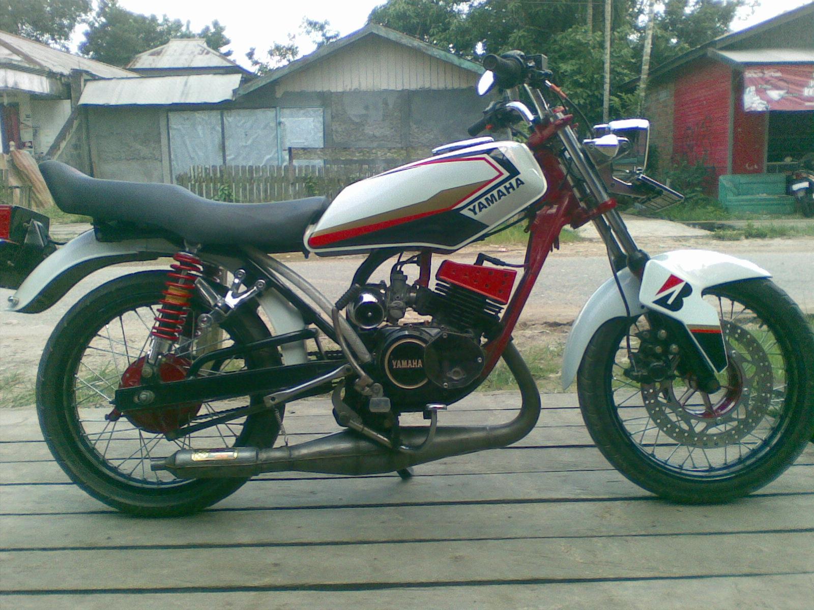yamaha rx king modification | motorider 88