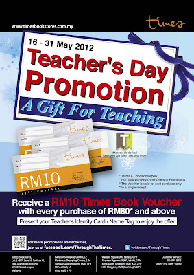 Times Bookstores Teachers Day Promo