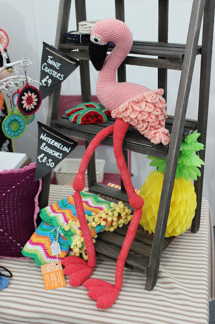 Charlotte Amy Design - flamingo crochet - The Handmade Fair