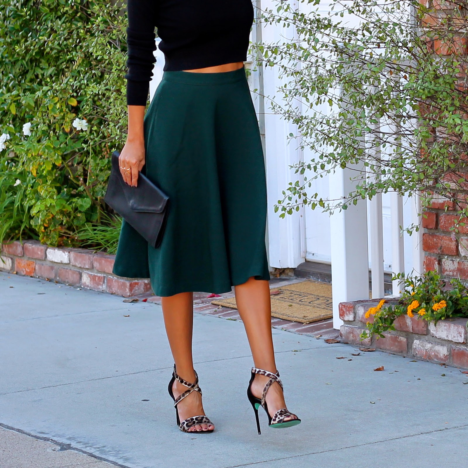 Life, Love and the Pursuit of Shoes: Midi Skirts for the Holidays