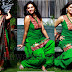 Tamil Actress Devasree in Green Patiala Salwar Kameez