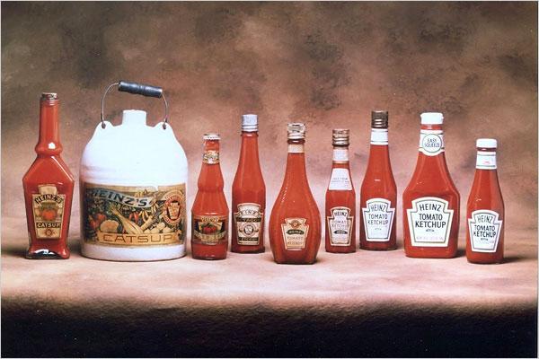 ketchup fles foto