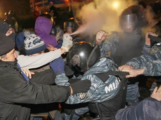 Протестите в украйна може да преминат в гражданска война