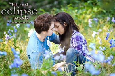 Imagen promocional de la parodia de Eclipse de The Hillywood Show