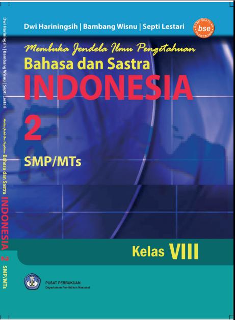 Perpustakaan Online Membuka Jendela Ilmu Pengetahuan Bahasa dan Sastra Indonesia 2 SMP/MTs
