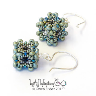 Beaded Bead Earrings