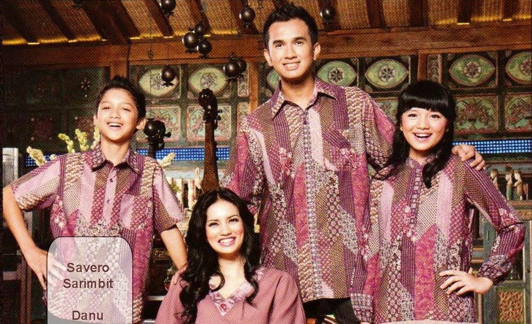 Baju Batik Anak Dan Mama Papa Modelbaju24 Model Baju Batik