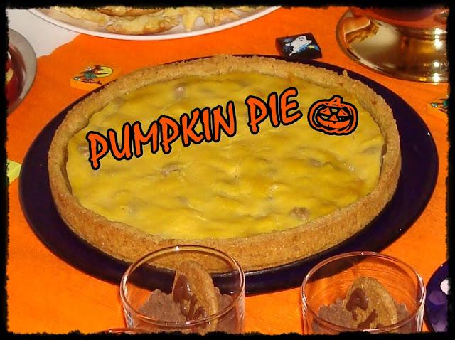 Dýňový koláč, Halloween