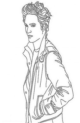 free twilight coloring pages - photo#49